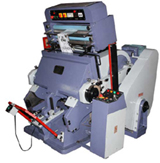 Hot Foil Stamping Platen Press CLICK FOR BIG IMAGE