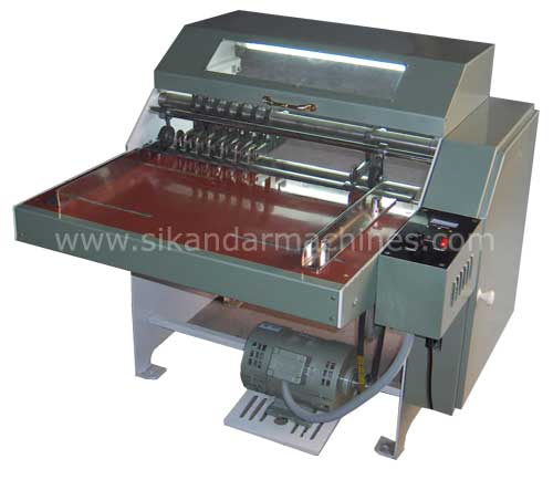 Half Cut Sticker Label Cutting Machine, ROTARY DISC SLITTING, PERFORATER, CREASER exporter