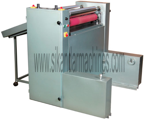 Sheet Separator Machine of Laminated Rolls
